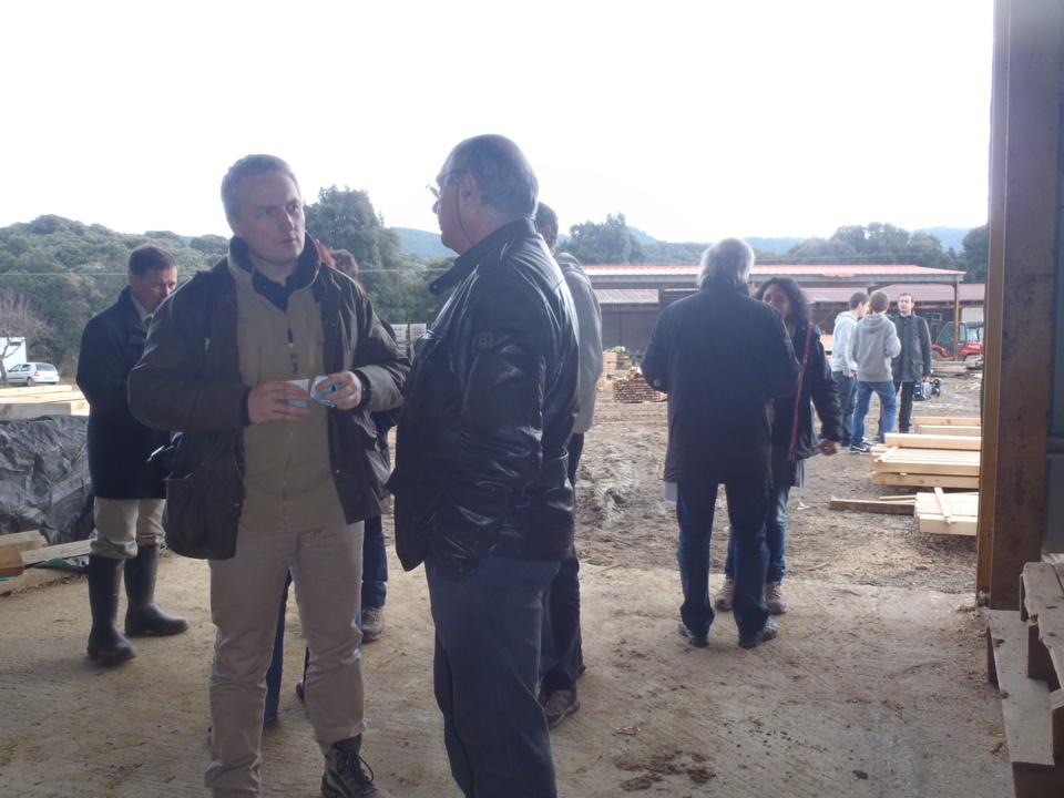 Scierie Corse Développement, vitrine de PEFC CORSICA