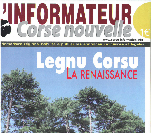 LEGNU CORSU – LA RENAISSANCE